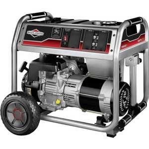 Генератор бензиновый Briggs and Stratton 6250A цена