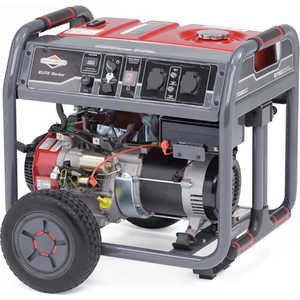 Генератор бензиновый Briggs and Stratton Elite 7500EA бензиновый генератор briggs