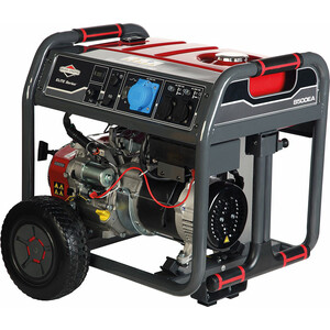 Генератор бензиновый Briggs and Stratton Elite 8500ЕА бензиновый генератор briggs