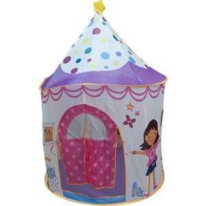 Купить игровая палатка Ching-Ching Домик принцессы, 106х106х150см, с шариками 100шт (CBH-16) (285648) в Москве, в Спб и в России