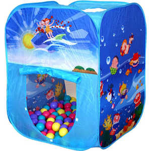 Фотография товара игровая палатка Ching-Ching Океан, 85х85х100см с шариками 100шт (CBH-02) (285651)