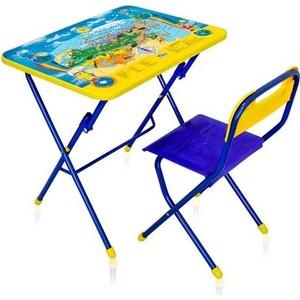 Набор мебели Ника ''Первоклашка-Осень'' стол-парта и пластиковый стул (КПУ1/11) ника набор мебели первоклашка зелёный