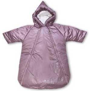 Конверт Сонный Гномик ''Снежинка'' натуральный мех (розовый) синтепон 977