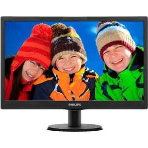 Монитор Philips 273V5LHAB black серьги чароит