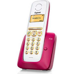 Радиотелефон Gigaset A130 бордовый