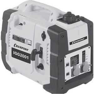 Генератор бензиновый инверторный Champion IGG2001 генератор инверторный бензиновый et 3600i etalon