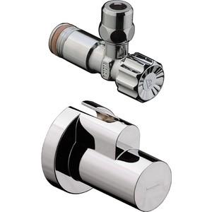 Вентиль Hansgrohe угловой 1/2 под сталь (13954820)  вентиль термостатический угловой 1 2 valteс