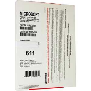 Программное обеспечение Microsoft Windows Pro 7 SP1 32-bit/x64 Russian Legalization DSP OEI DVD 1pk (6PC-00024)