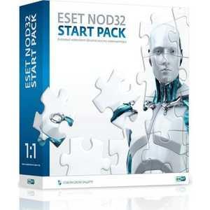 ����������� ����������� ESET NOD32 Start Pack- ������� �������� ������������ ����������, �������� �� 1 ��� �� 1��, Box (NOD32-ASP-NS(BOX)-1-
