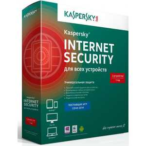 Программное обеспечение Kaspersky Internet Secutity Multi-Device Russian Ed. 2-Device 1 year Base Box (KL1941RBBFS)