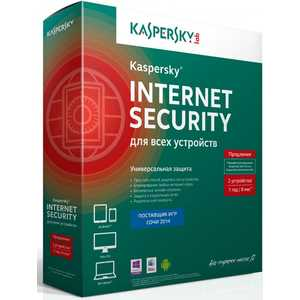 Программное обеспечение Kaspersky Internet Secutity Multi-Device Russian Ed. 2-Device 1 year Renewal Box (KL1941RBBFR)