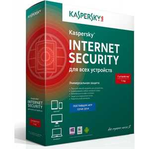 Программное обеспечение Kaspersky Internet Secutity Multi-Device Russian Ed. 3-Device 1 year Base Box (KL1941RBCFS)