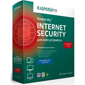 Программное обеспечение Kaspersky Internet Secutity Multi-Device Russian Ed. 5-Device 1 year Base Box (KL1941RBEFS)