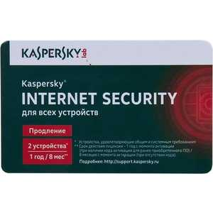 Программное обеспечение Kaspersky Internet Secutity Multi-Device Russian Ed. 5-Device 1 year Renewal Card (KL1941ROEFR)