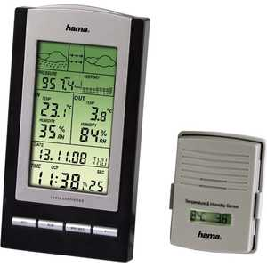 Метеостанция HAMA EWS-800 метеостанция цифровая hama ews 800 h 76045