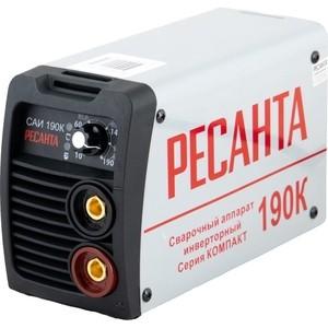Сварочный инвертор Ресанта САИ 190 К сварочное оборудование ресанта саи 315