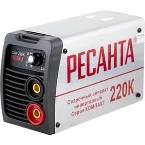 Сварочный инвертор Ресанта САИ 220 К сварочный инвертор ресанта саи 220