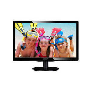 Монитор Philips 243V5LAB Black philips she4205 black