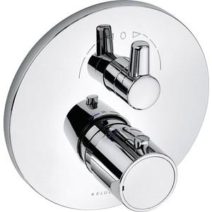 Термостат для душа Kludi Zenta накладная панель (388350545) смеситель для кухни kludi l ine с выдвижным изливом 428210577