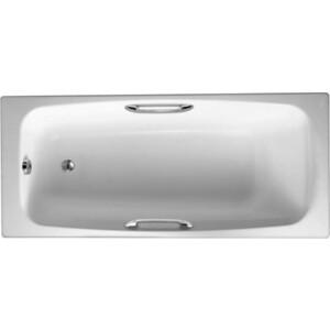 Чугунная ванна Jacob Delafon Diapason 170x75 с отверстиями для ручек (E2926)