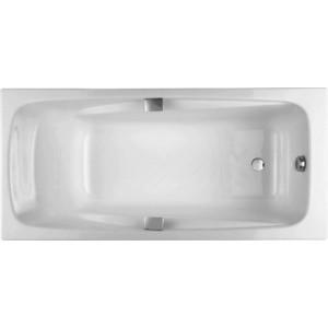 Чугунная ванна Jacob Delafon Repos 180x85 с отверстиями для ручек (E2903)
