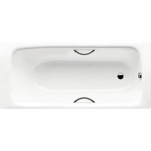 Стальная ванна Kaldewei Sanilux Star пустая мод 343 170x75 белый отверстиями под ручки (113300010001)