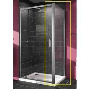 Душевая стенка Huppe Serie X1 Боковая стенка 80х190 см глянцевый хром стекло прозрачное (140503.069.321)