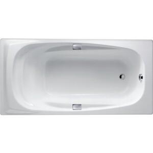 Чугунная ванна Jacob Delafon Super repos 180x90 с отверстиями для ручек (E2902)