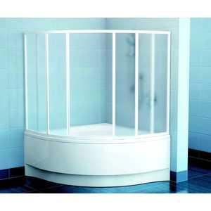 Шторка на ванну Ravak VDKP4-140 140х150 см Раин (4DAMF10041)