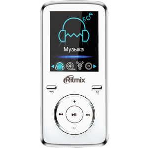 MP3 плеер Ritmix RF-4950 8Gb white mp3 плеер ritmix rf 3450 16gb black