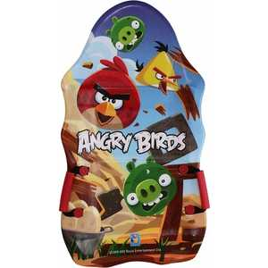 Ледянка 1Toy Angry Birds 94см с ручками T56333 деревянная игра angry birds 1toy