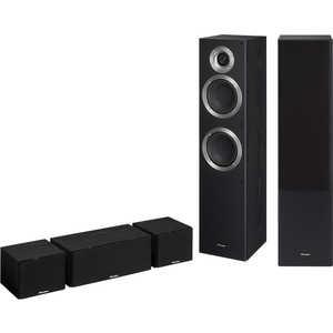 Комплект акустических систем Pioneer S-ES21TB 5.0, black pioneer s esr2tb