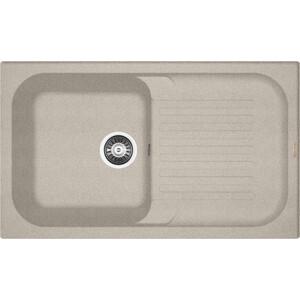 Мойка кухонная Florentina Арона 860 песочный FG (20.225.D0860.107) кухонная мойка ukinox cmm 860 gw r