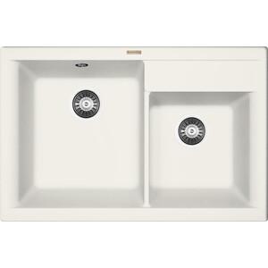 Мойка кухонная Florentina Касси 780 жасмин FS (20.230.E0780.201) кухонная мойка pyramis alinia 65x51 1b 1d жасмин