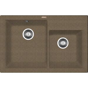 Мойка кухонная Florentina Касси 780 коричневый FG (20.230.E0780.105) кухонная мойка ukinox comfort cop 780 480 gt6k левая