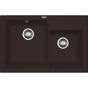 Мойка кухонная Florentina Касси 780 мокко FSm (20.230.E0780.303) кухонная мойка ukinox comfort cop 780 480 gt6k левая