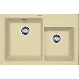 Мойка кухонная Florentina Касси 780 шампань FS (20.230.E0780.202) кухонная мойка ukinox comfort cop 780 480 gt6k левая