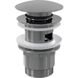 Донный клапан AlcaPlast Click-clack для умывальника (A390) сифон для раковины alcaplast хромированная латунь d32 с накидной a432