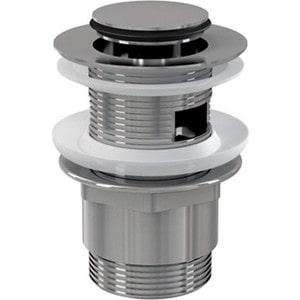 Донный клапан AlcaPlast Click-clack для умывальника цельномет (A39) сифон для раковины alcaplast хромированная латунь d32 с накидной a432