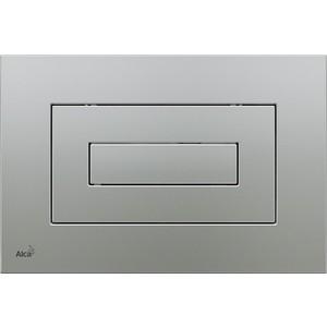 Клавиша смыва AlcaPlast матовый хром (M472)