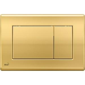 Клавиша смыва Alca Plast золотая (M275)