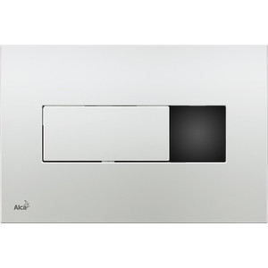 Клавиша смыва AlcaPlast сенсорная хром глянец (M371S) кнопка смыва vitra 740 0780 хром