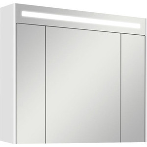 Зеркальный шкаф Акватон Блент 100 белый (1A166502BL010) акватон блент 80 белый