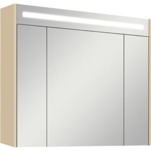 Зеркальный шкаф Акватон Блент 100 кремовый (1A166502BLA70) акватон блент 80 белый