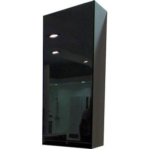 Шкаф Акватон Ричмонд одностворчатый черный левый (1A145503RD95L)