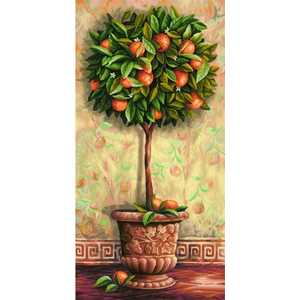 Раскраска по номерам Schipper ''Апельсиновое дерево'' 40х80см 9220398