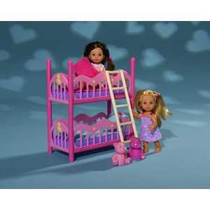 Набор Simba Еви (2 шт) с кроваткой 5733847 evi игровой набор simba еви с братиком с двухъярусной кроваткой 12 см