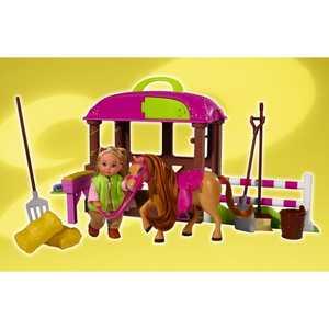 Набор Simba ''Еви с лошадкой'' + аксессуары 5737463