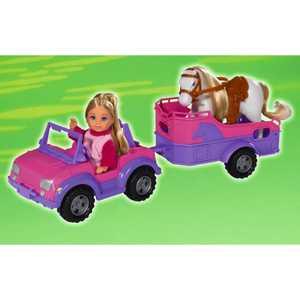 Набор Simba ''Еви + трейлер с лошадкой'' 5737460