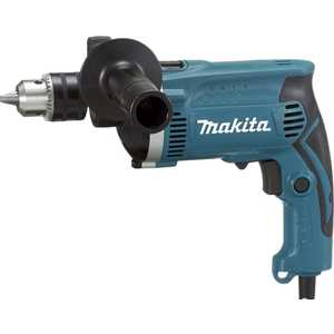 Дрель ударная Makita HP1630 электроинструмент makita hp1630